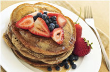 Whole-Weat-Pancakes