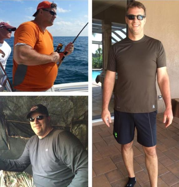 Chris Burns, How to lose 50 pounds,
